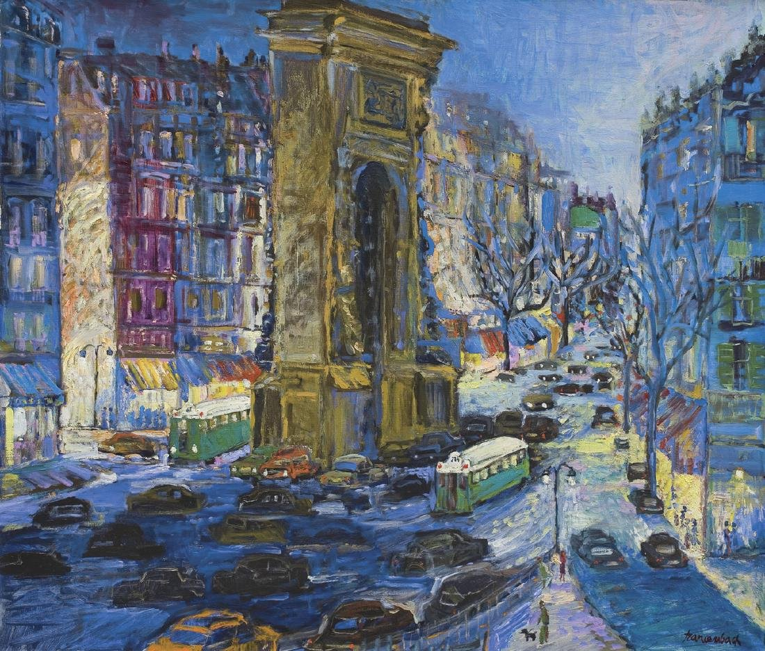 Szancenbach Jan - PARIS LANDSCAPE, 1988