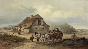 Rybkowski Tadeusz - ON THE WAY TO MARKET, 1879