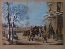 CURRIER & IVES AMERICAN COUNTRY LIFE