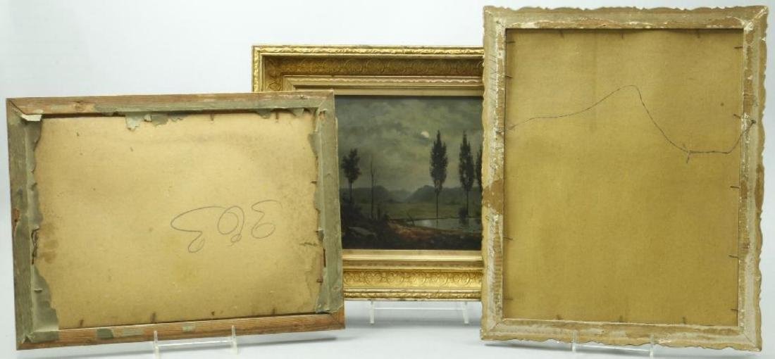 3 AMERICAN OIL LANDSCAPE PAINTINGS - 2