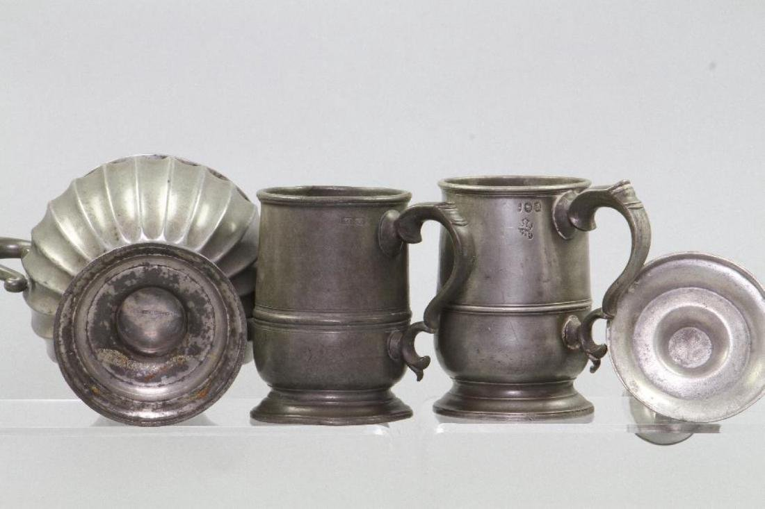 8 PIECES OF PEWTER - 3