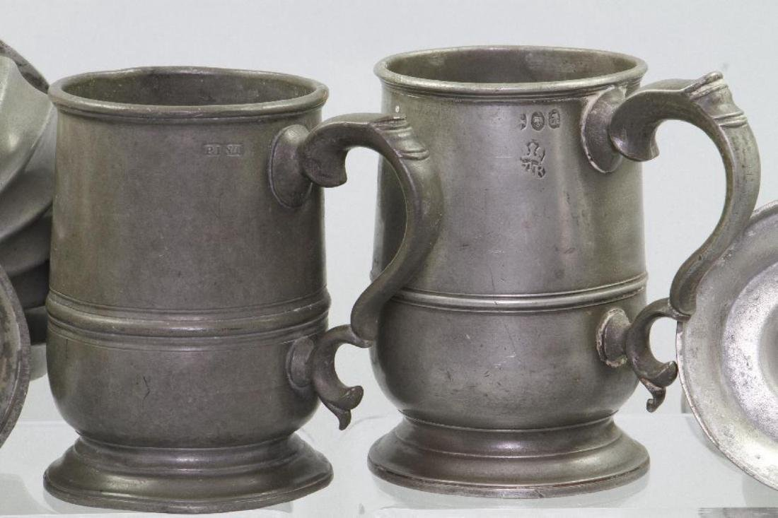 8 PIECES OF PEWTER - 5