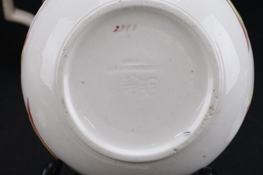 14 PIECES ENGLISH CERAMIC TABLEWARE PRINTED OR PAINTED - 8