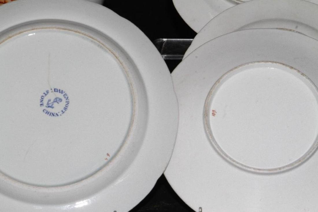 9 PIECES ENGLISH JAPAN PATTERN & OTHER TABLEWARE - 6