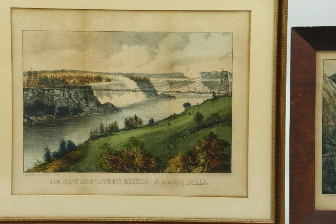4 CURRIER & IVES HAND COLORED LITHOGRAPHS - 5