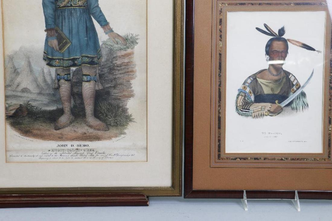 3 RICE RUTTER COLORED PRINTS NATIVE AMERICANS & 1 OTHER - 4