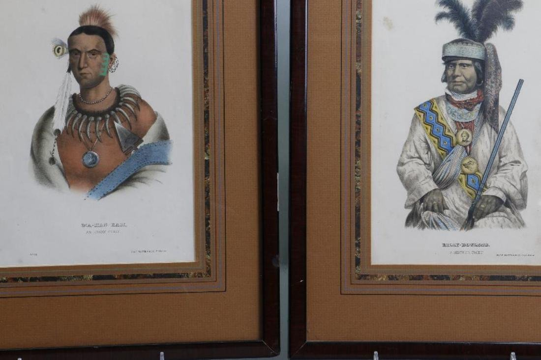 3 RICE RUTTER COLORED PRINTS NATIVE AMERICANS & 1 OTHER - 7