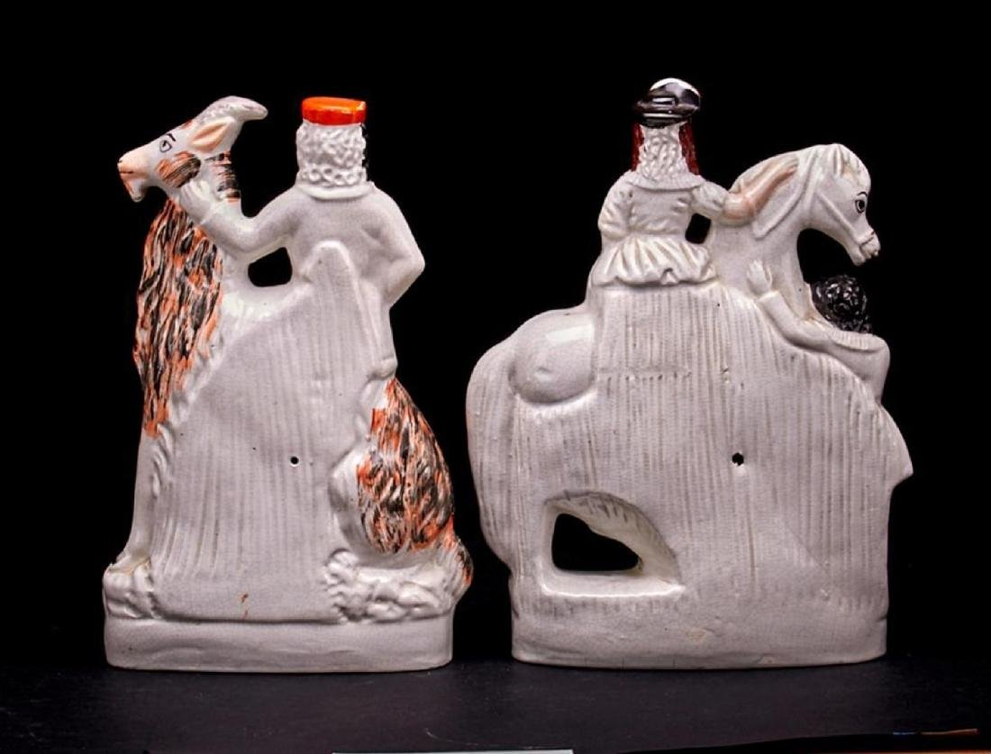 2 STAFFORDSHIRE EQUESTRIAN FIGURES - 2