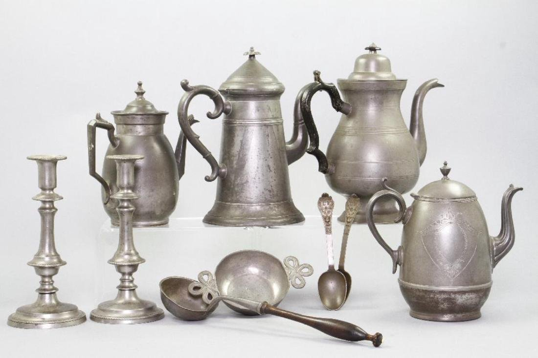 10 PIECES OF PEWTER - 3