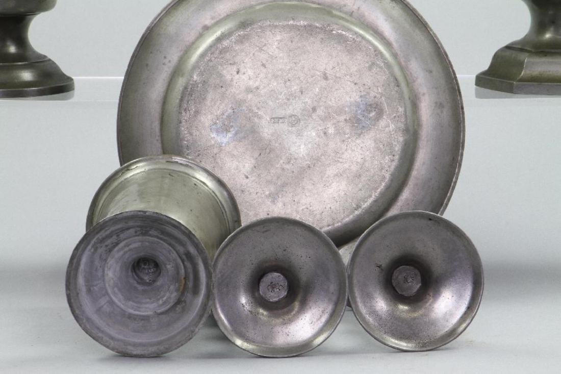 10 PIECES OF PEWTER - 5
