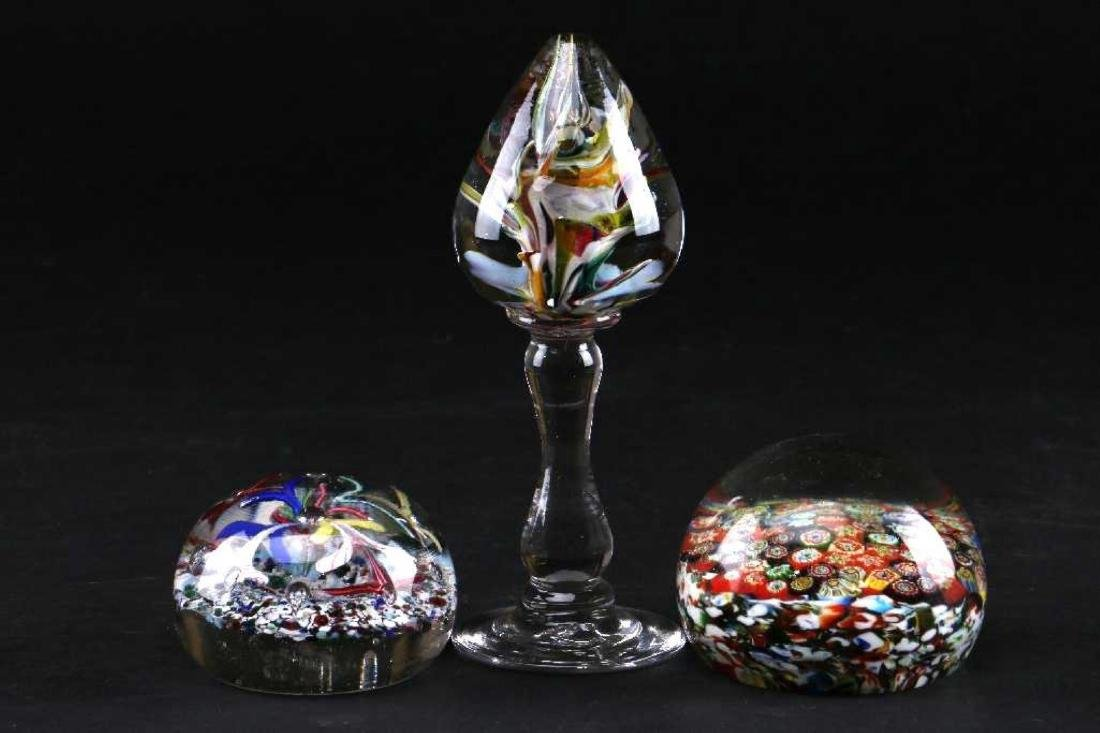 ENGLISH PAPERWEIGHT MANTEL ORNAMENT - 2