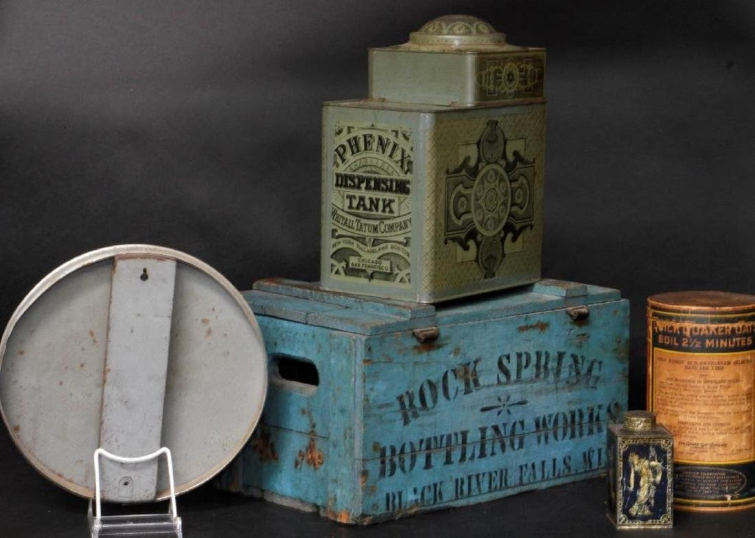 5 ADVERTISING COLLECTABLES - 2