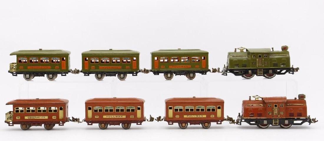 Lionel 0 Gauge Passenger Set Grouping