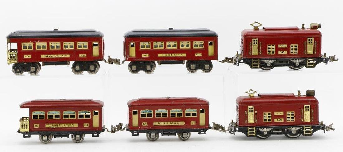 Lionel 0 Gauge  Passenger Set Grouping