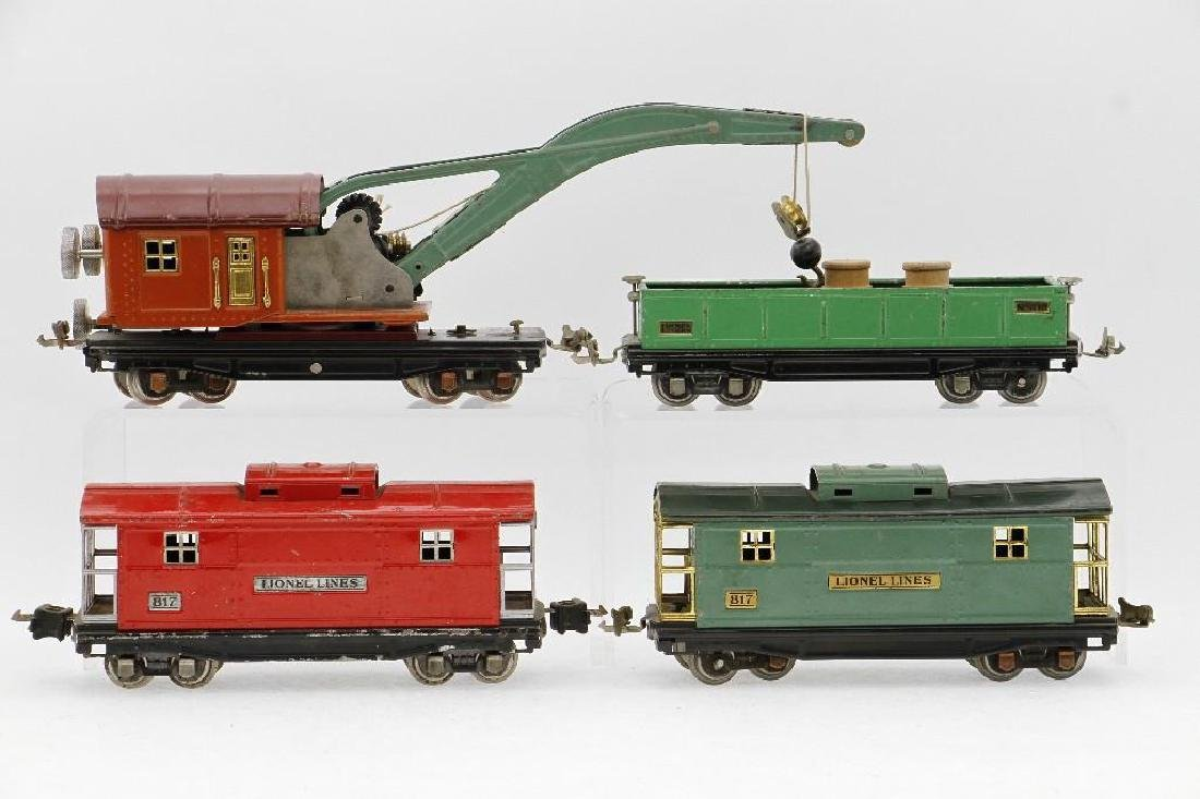 Lionel 0 Gauge Freight Car Grouping