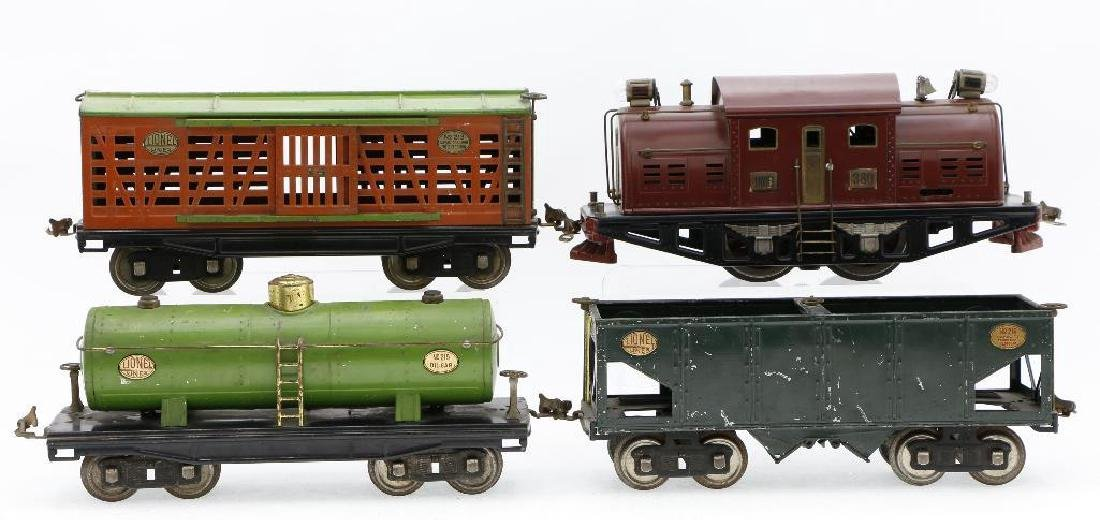 Lionel Standard Gauge Locomotive and Freight cars