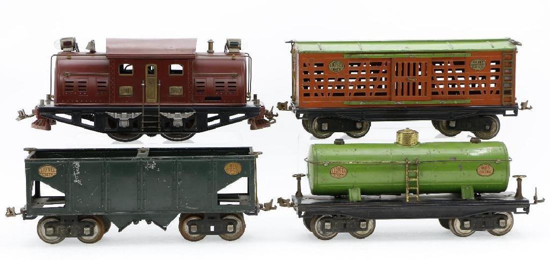Lionel Standard Gauge Locomotive and Freight cars - 2