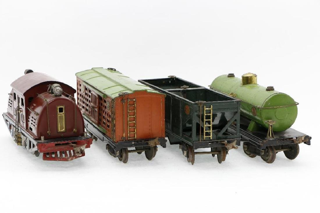 Lionel Standard Gauge Locomotive and Freight cars - 3