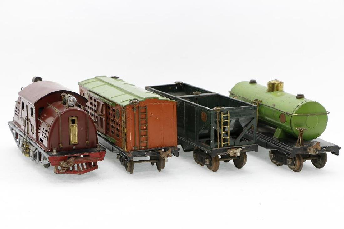 Lionel Standard Gauge Locomotive and Freight cars - 4