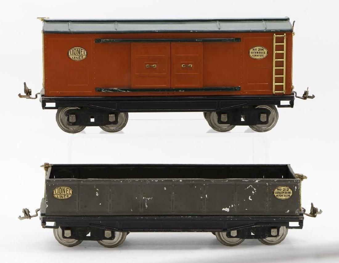 Lionel Standard Guage Freight Car Grouping