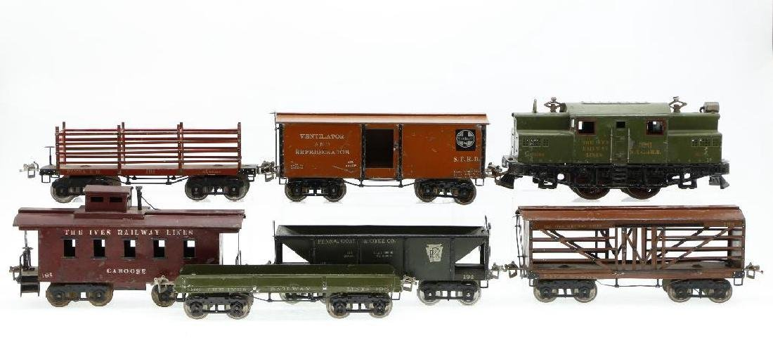 Ives Standard Gauge   Freight Set