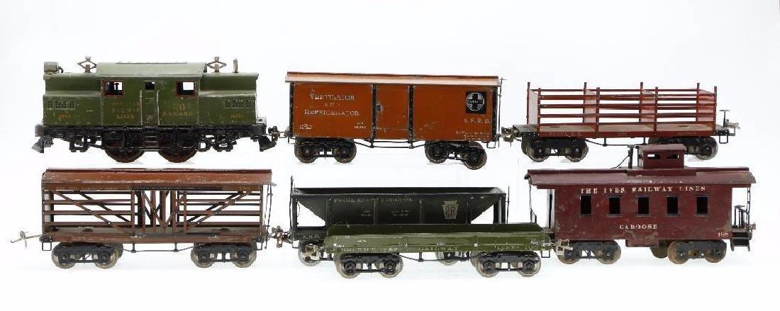 Ives Standard Gauge   Freight Set - 2