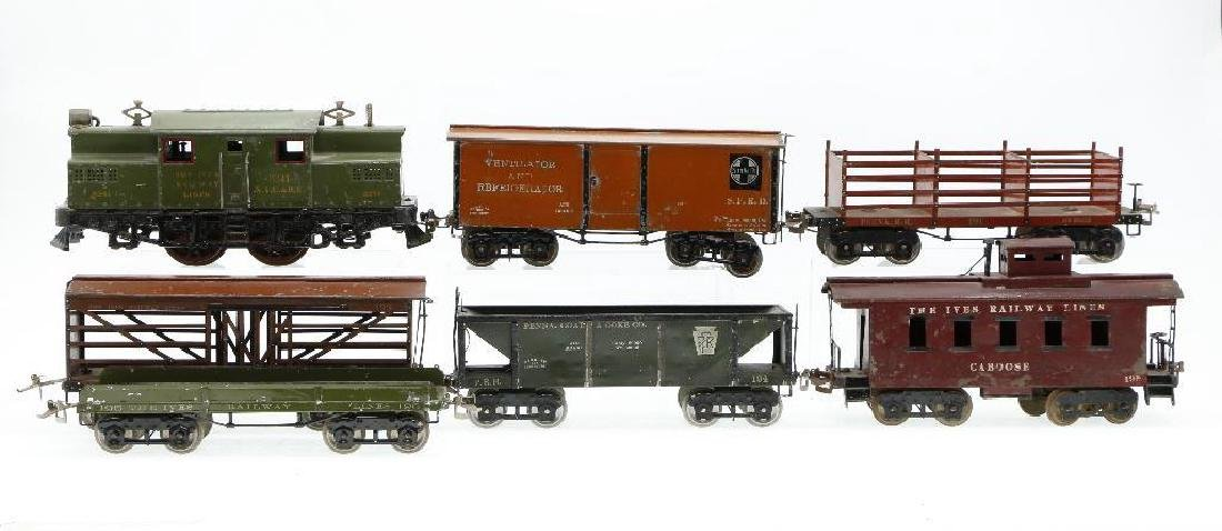 Ives Standard Gauge   Freight Set - 3