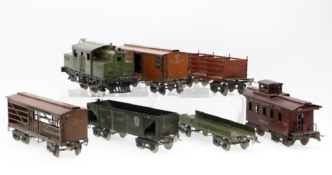 Ives Standard Gauge   Freight Set - 5
