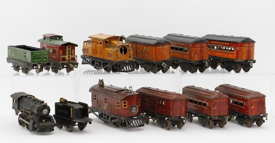 American Flyer 0 Gauge Passenger and Freight Set Group - 3