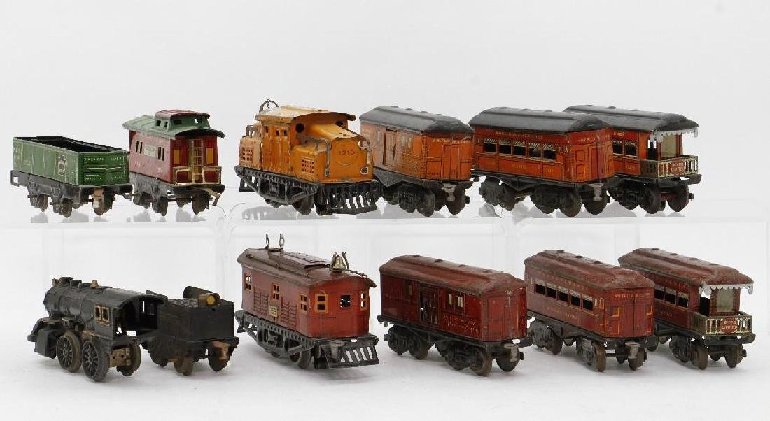 American Flyer 0 Gauge Passenger and Freight Set Group - 4