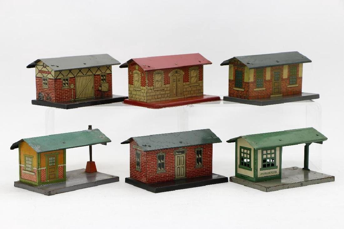American Flyer Gauge  Station Grouping