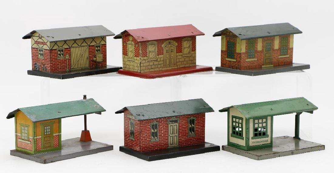 American Flyer Gauge  Station Grouping - 2