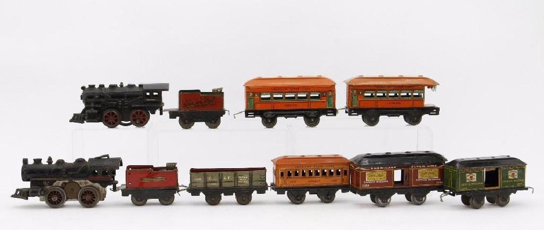 American Flyer  Gauge Mixed Locomotive and Car Grouping - 2