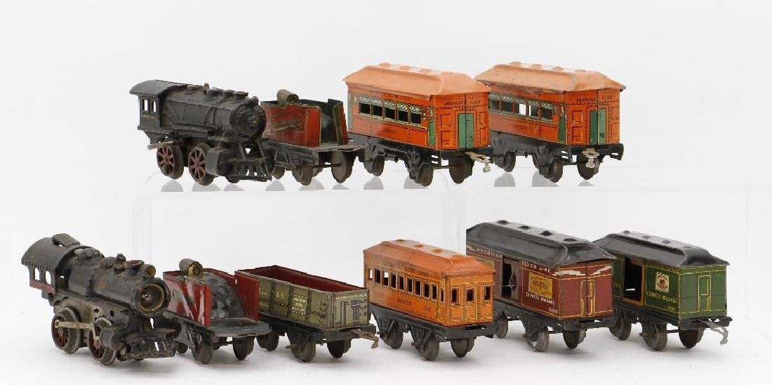 American Flyer  Gauge Mixed Locomotive and Car Grouping - 3