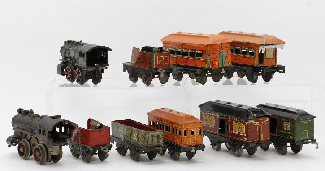 American Flyer  Gauge Mixed Locomotive and Car Grouping - 4