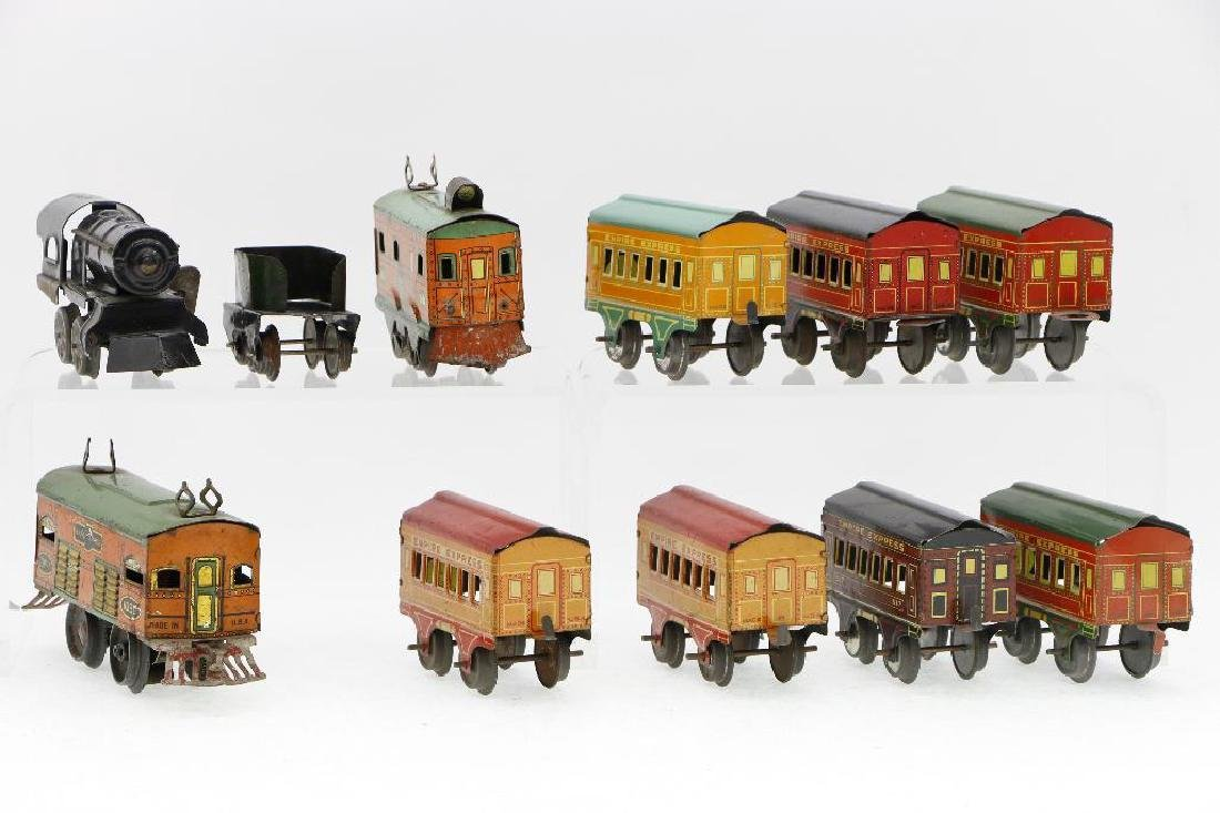 American Flyer 0 Gauge Empire Express Loco/Car Grouping - 3