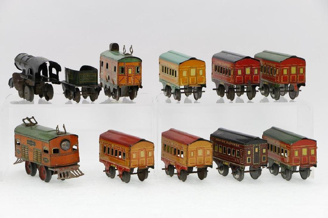 American Flyer 0 Gauge Empire Express Loco/Car Grouping - 4