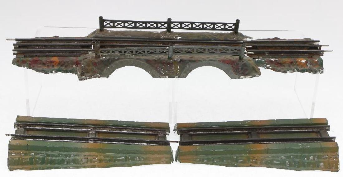 Ives O Gauge Elevated Bridge Grouping - 2