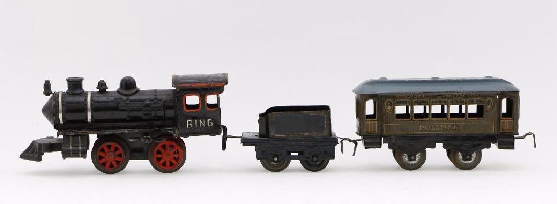 Bing 0 Gauge Locomotive and Car Grouping - 2