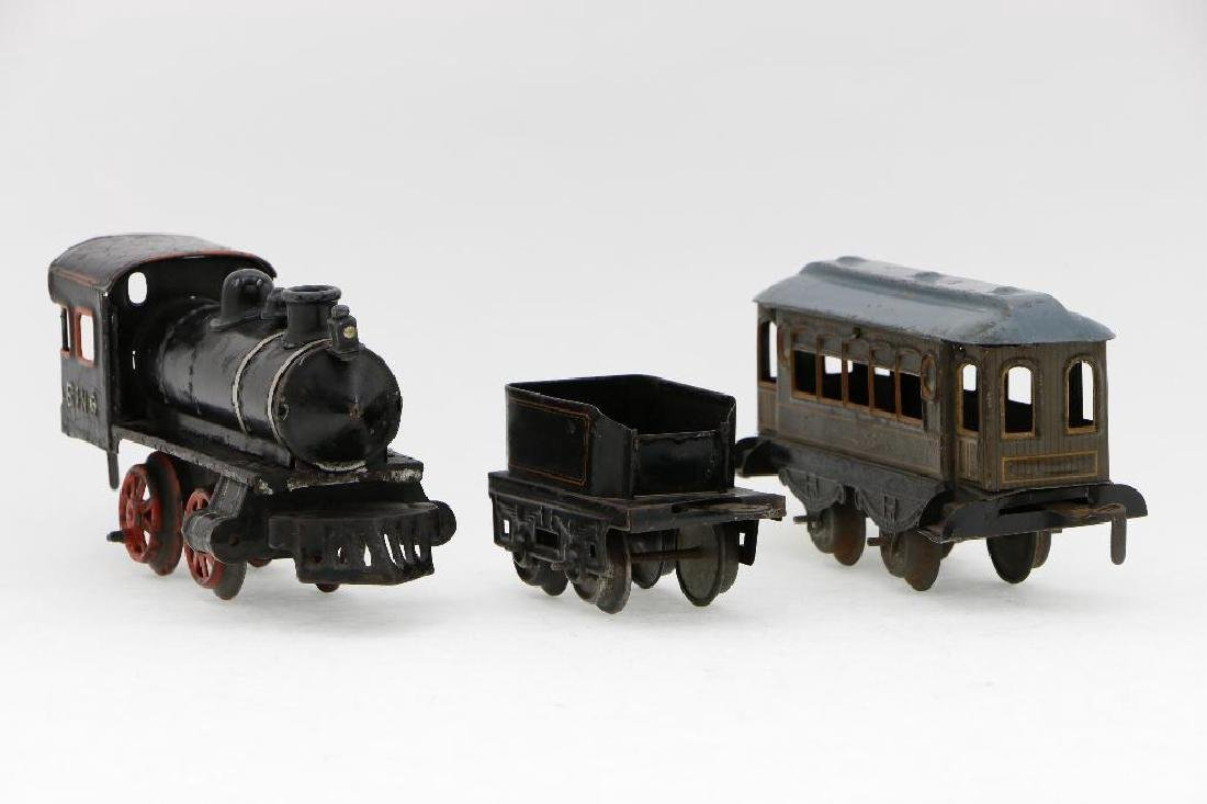 Bing 0 Gauge Locomotive and Car Grouping - 3