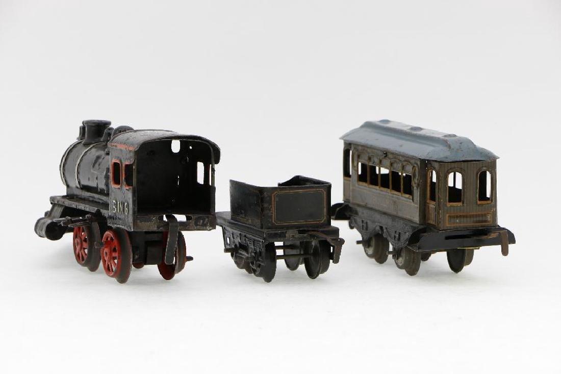 Bing 0 Gauge Locomotive and Car Grouping - 4