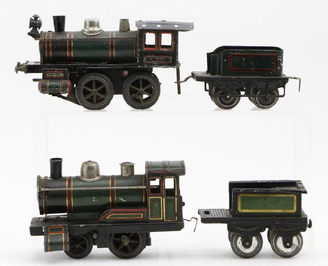 Bing 0 Gauge Locomotive and Passenger Car Grouping - 2