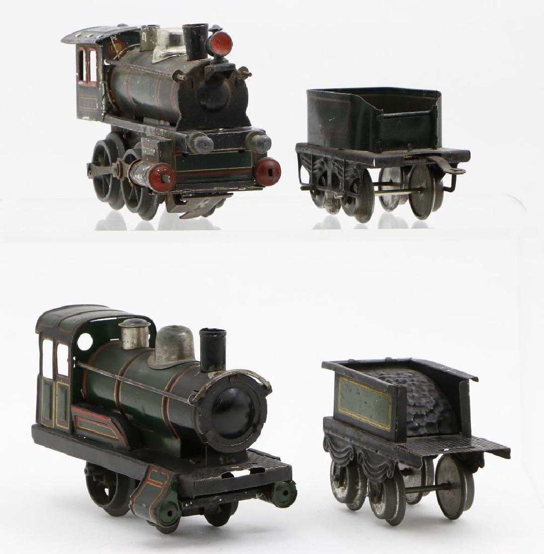 Bing 0 Gauge Locomotive and Passenger Car Grouping - 3