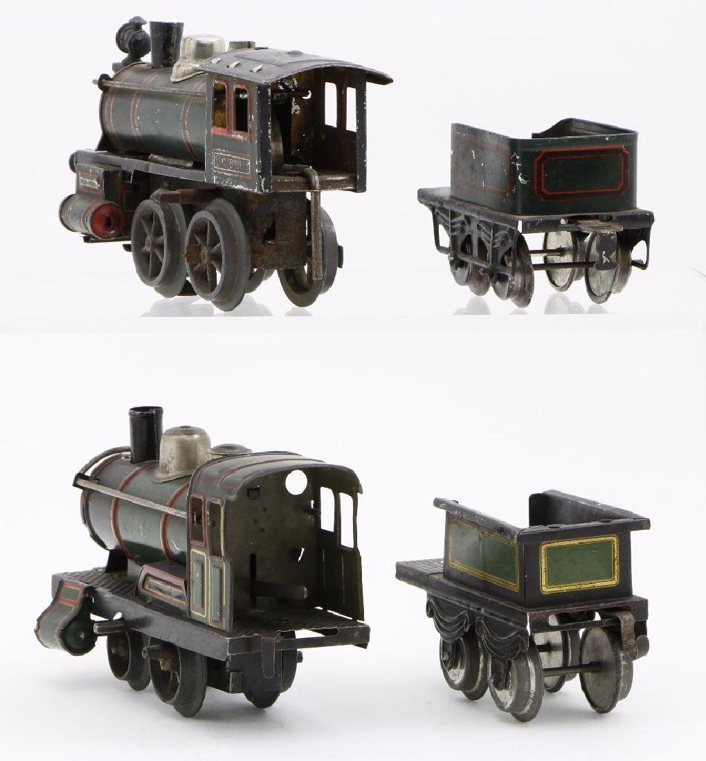Bing 0 Gauge Locomotive and Passenger Car Grouping - 4