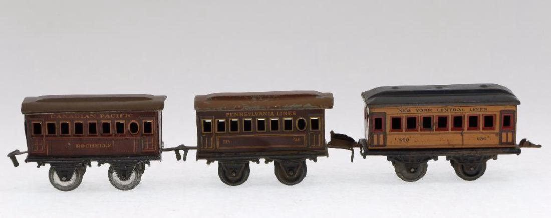 Bing 0 Gauge Locomotive and Passenger Car Grouping - 6