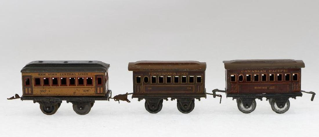 Bing 0 Gauge Locomotive and Passenger Car Grouping - 7
