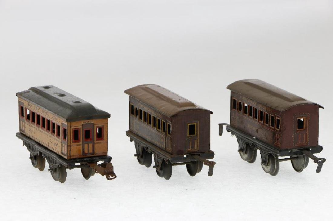 Bing 0 Gauge Locomotive and Passenger Car Grouping - 9