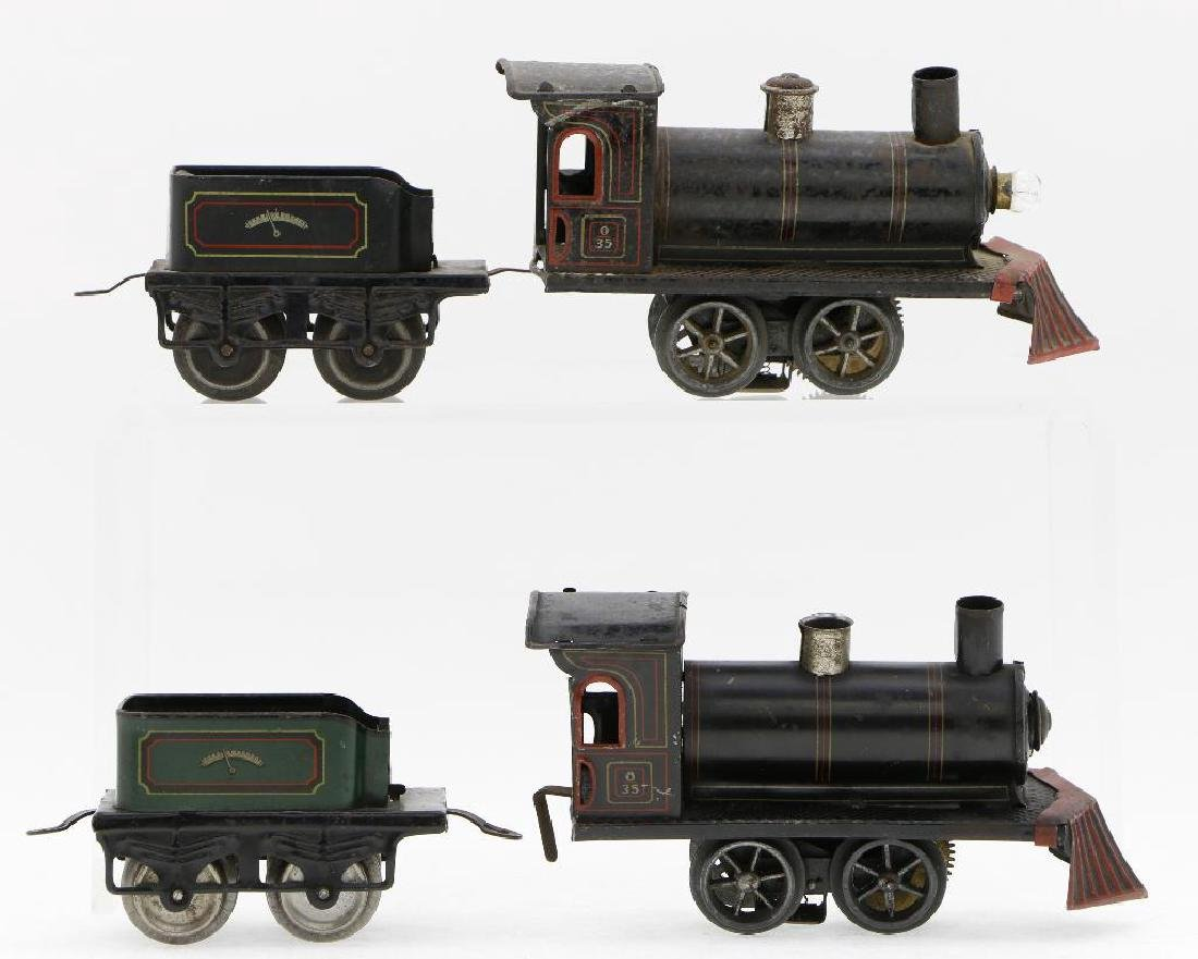 Bing 0 Gauge  Locomotive Grouping