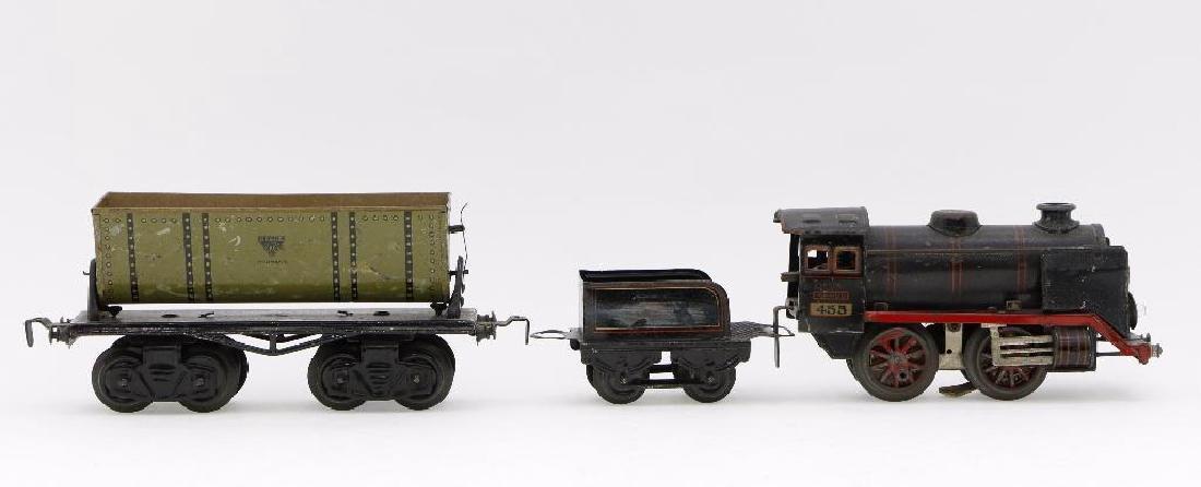 Kraus 0 Gauge Locomotive and Freight Car Grouping
