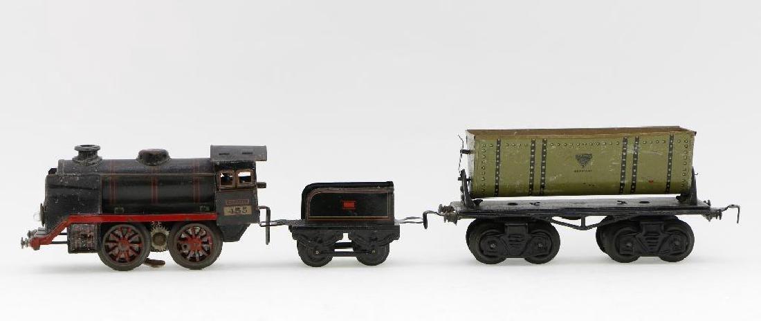 Kraus 0 Gauge Locomotive and Freight Car Grouping - 2